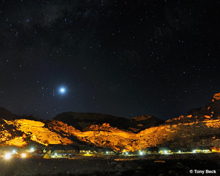 Namibian night  Sky