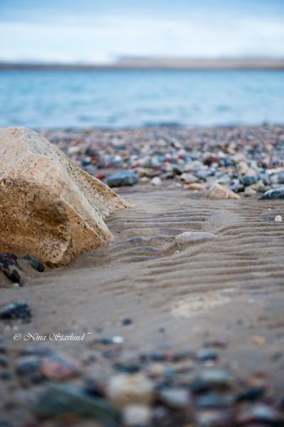 Arctic beach..