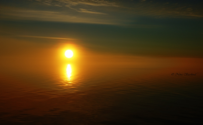Midnight sun..